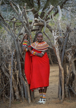 HMS2238140 Kenya, Marsabit District, Ngurunit, rendille tribeswoman