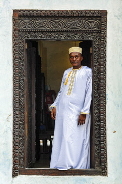 HMS2684870 Tanzania, Zanzibar, Zanzibar City, Stone Town, listed as World Heritage by UNESCO