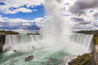CA03203 Canada, Ontario, Niagara Falls, Horseshoe Falls