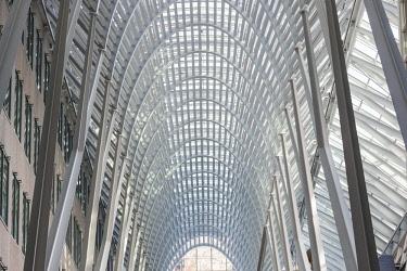 CA03258 Canada, Ontario, Toronto, Brookfield  Place interior, Santiago Calatrava, architect