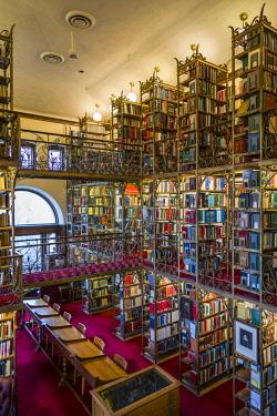 US61442 USA, New York, Finger Lakes Region, Ithaca, Cornell University, Andrew Dickson White Library