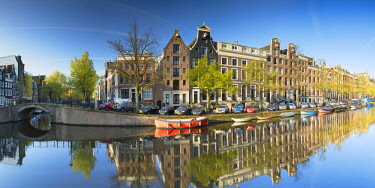 NLD0482AW Keizersgracht canal, Amsterdam, Netherlands