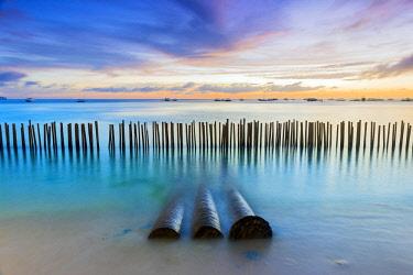 PHI1496AW Asia, South East Asia, Philippines, Western Visayas, Boracay, Dinwid Beach