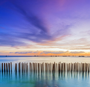 PHI1498AW Asia, South East Asia, Philippines, Western Visayas, Boracay, Dinwid Beach