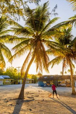 DMR0129AW Mano Juan, Saona Island, East National Park (Parque Nacional del Este), Dominican Republic, Caribbean Sea.