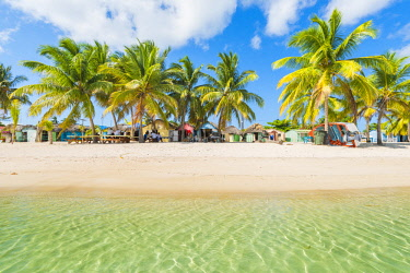DMR0159AWRF Mano Juan, Saona Island, East National Park (Parque Nacional del Este), Dominican Republic, Caribbean Sea.