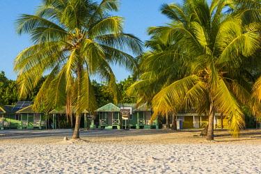 DMR0172AWRF Mano Juan, Saona Island, East National Park (Parque Nacional del Este), Dominican Republic, Caribbean Sea.