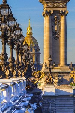 FR20272 Pont Alexandre III & Les Invalides, Paris, France