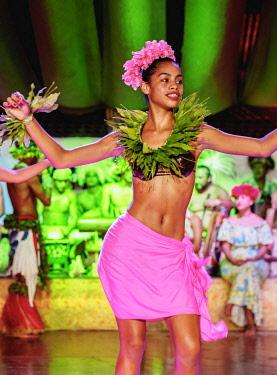 CHI10719AW Kari Kari Cultural Ballet Show, Hanga Roa, Easter Island, Chile