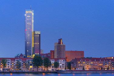 NL086RF Netherlands, South Holland, Rotterdam, Maaskade