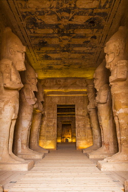 EG03171 Egypt, Abu Simbel, The Great Temple, known as Temple of Ramses II