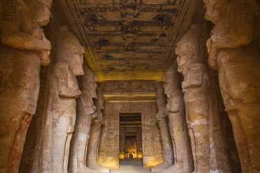 EG03172 Egypt, Abu Simbel, The Great Temple, known as Temple of Ramses II