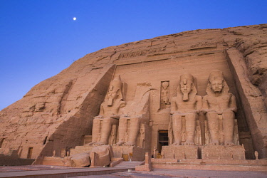 EG03196 Egypt, Abu Simbel, The Great Temple, known as Temple of Ramses II