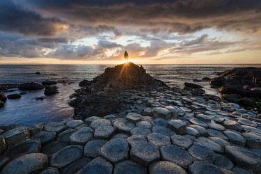 NIR8890AW The Giant's Causeway, County Antrim, Ulster region, Northern Ireland, United Kingdom.
