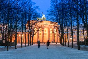 CLKAB59050 Brandenburg Gate in Berlin city, Land Berlin, Germany, Europe