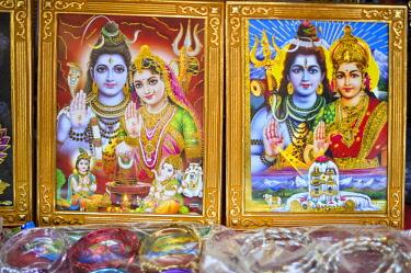 CLKFM59678 Images of Hindu Gods,Pashupatinath,Kathmandu, Nepal, Asia