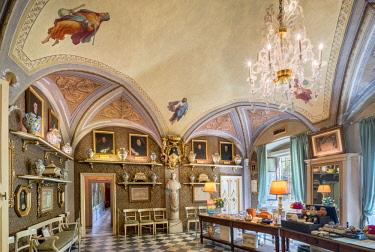 ITA10737AW Europe, Italy, Tuscany, Florence, Officina Profumo Farmaceutica di Santa Maria Novella