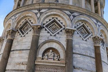 ITA10775AW Europe, Italy, Tuscany, Pisa, Torre di Pisa, Leaning Tower of Pisa