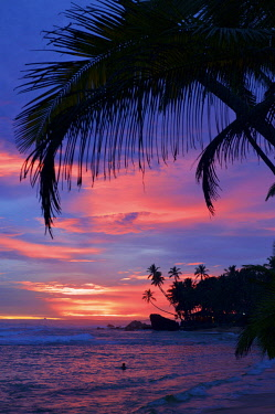 SRI2087AW Unawatuna Beach, Sri Lanka