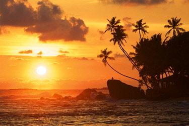 SRI2116AW Unawatuna Beach, Sri Lanka