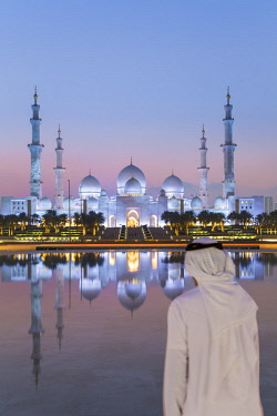 UE02400 Sheikh Zayed Bin Sultan Al Nahyan Mosque, Abu Dhabi, United Arab Emirates, UAE