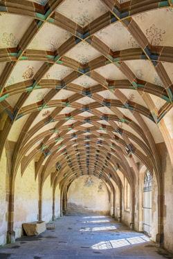 GER9984AW Germany, Baden-Württemberg, Maulbronn. Kloster Maulbronn (Maulbronn Monastery), UNESCO World Heritage Site.