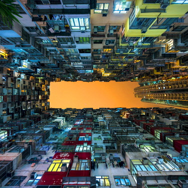 CH11435AW Apartment building near Quarry Bay, Kowloon, Hong Kong, China