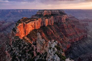 USA8919AW United States of America, Arizona, Grand Canyon, Cape Royal