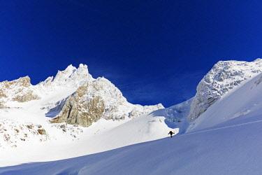 FRA9913 Europe, France, Haute Savoie, Rhone Alps, Chamonix, glacier de Argentiere
