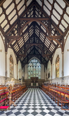ENG14653AW Europe,United Kingdom, England, Oxfordshire, Oxford, St Johns College Chapel