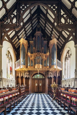 ENG14654AW Europe,United Kingdom, England, Oxfordshire, Oxford, St Johns College Chapel