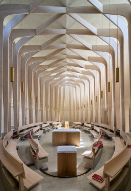 ENG14737AW Europe,United Kingdom, England, Oxfordshire, Oxford, Ripon College Cuddesdon, Bishop Edward King Chapel