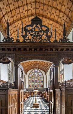 ENG14772AW Europe,United Kingdom, England, Oxfordshire, Oxford, Wadham College Chapel