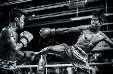 CMB1609AW 'Pradal Serey' Cambodian Kickboxing, CTN Studio, Phnom Penh, Cambodia, Indochina, Asia