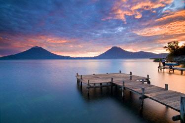 GUA1153AW Santa Cruz La Laguna, Lake Atitlan, Western Highlands, Guatemala, Central America