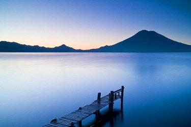 GUA1154AW Santa Cruz La Laguna, Lake Atitlan, Western Highlands, Guatemala, Central America