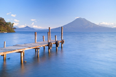 GUA1159AW Santa Cruz La Laguna, Lake Atitlan, Western Highlands, Guatemala, Central America