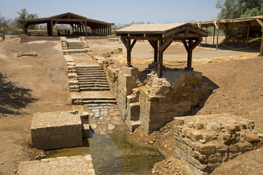 Bethany, Jordan. Situated on the eastern bank of the River Jordan, the Baptism Site at Bethany-Beyond-the-Jordan is where Jesus is believed to have been baptised by John the Baptist.