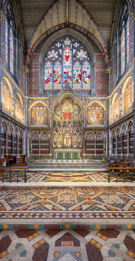 ENG14784AW Europe,United Kingdom, England, Oxfordshire, Oxford, Keble College Chapel