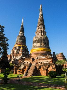 AS36TEG0356 Thailand, Ayutthaya, Phra Nakhon Si Ayutthaya Old Siam Temple