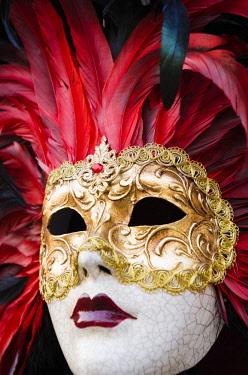 EU16RBS0002 Carnival mask, Venice, Veneto, Italy