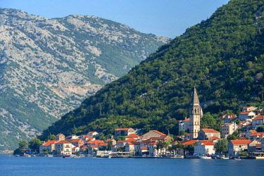 EU47JEN0004 Perast, Bay of Kotor, Montenegro, Europe