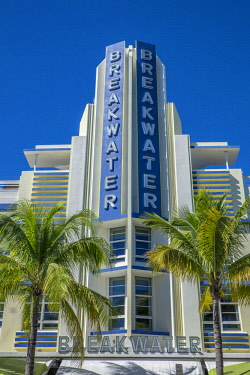 US10JEN0576 Breakwater Hotel, South Beach, Miami, Florida, USA (Editorial Only)