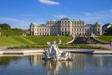 AU01367 Austria, Vienna, Upper Belvedere Palace