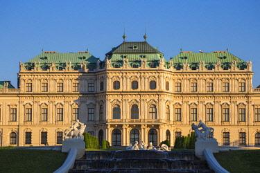 AU01372 Austria, Vienna, Upper Belvedere Palace