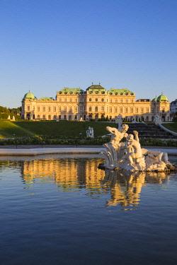 AU01373 Austria, Vienna, Upper Belvedere Palace