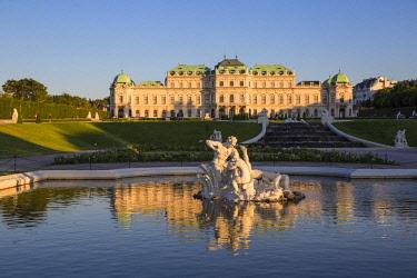 AU01374 Austria, Vienna, Upper Belvedere Palace