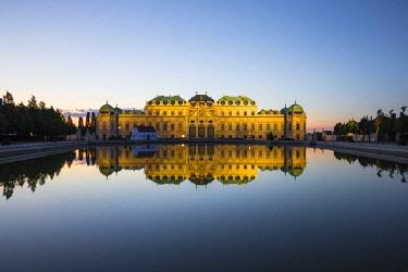 AU01375 Austria, Vienna, Upper Belvedere Palace