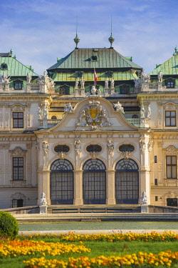 AU01431 Austria, Vienna, The Belvedere Palace