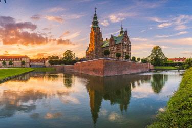 DEN0331AW Rosenborg Castle, Copenhagen, Hovedstaden, Denmark.